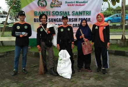 Sukses Adipura, Hari Santri dan Bersih Sungai