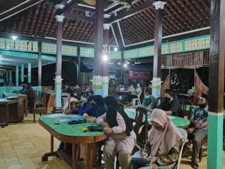 Musyawarah Dusun (Musdus) RPJM Kalurahan di Padukuhan Kepek