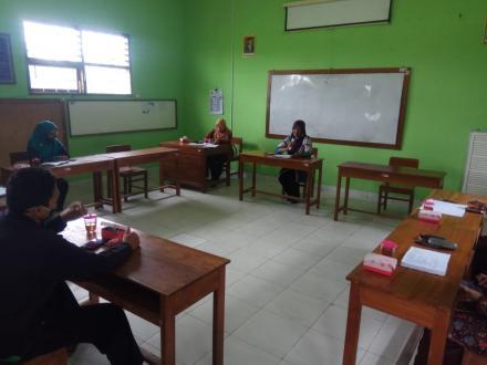 Rakor Persiapan Lomba Sekolah Sehat Kab.Bantul SD Pacar Timbulharjo