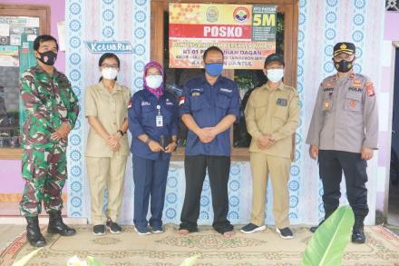 Edukasi dan Supervisi PPKM Mikro Rt. 01 Dagan