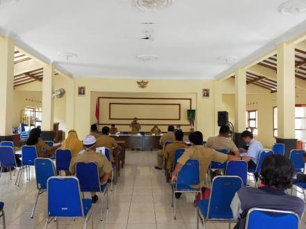Rapat Koordinasi Dukuh Kalurahan Timbulharjo