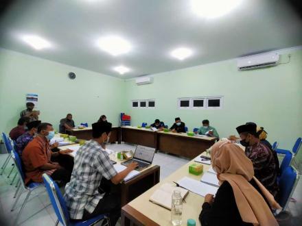 Rapat Koordinasi Pengkajian Hasil Form Musyawarah Dukuh