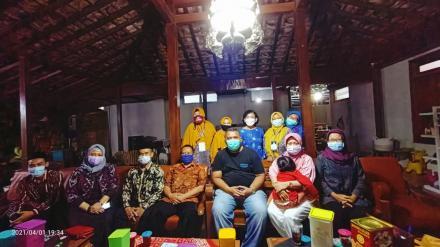Pendataan keluarga Tahun 2021 Keluarga Bpk. Hanung Raharjo, ST