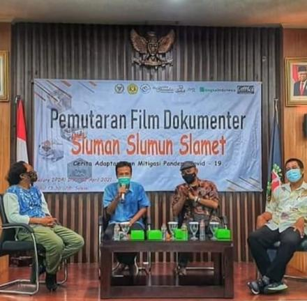 Film dokumenter penanganan covid Tembi Kalurahan Timbulharjo Kapanewon Sewon Bantul